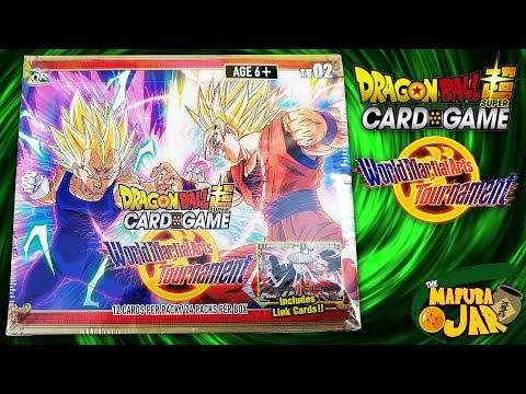 World Martial Arts Tournament Dragon Ball Super Booster Box Opening!