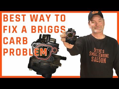 How Do I Fix a Briggs Plastic Carburetor Problem