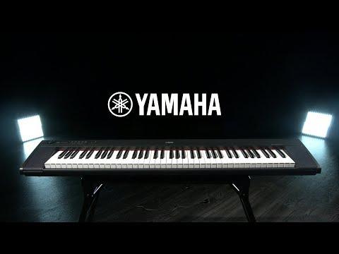 Yamaha Piaggero NP32 Portable Digital Piano, Black | Gear4music demo
