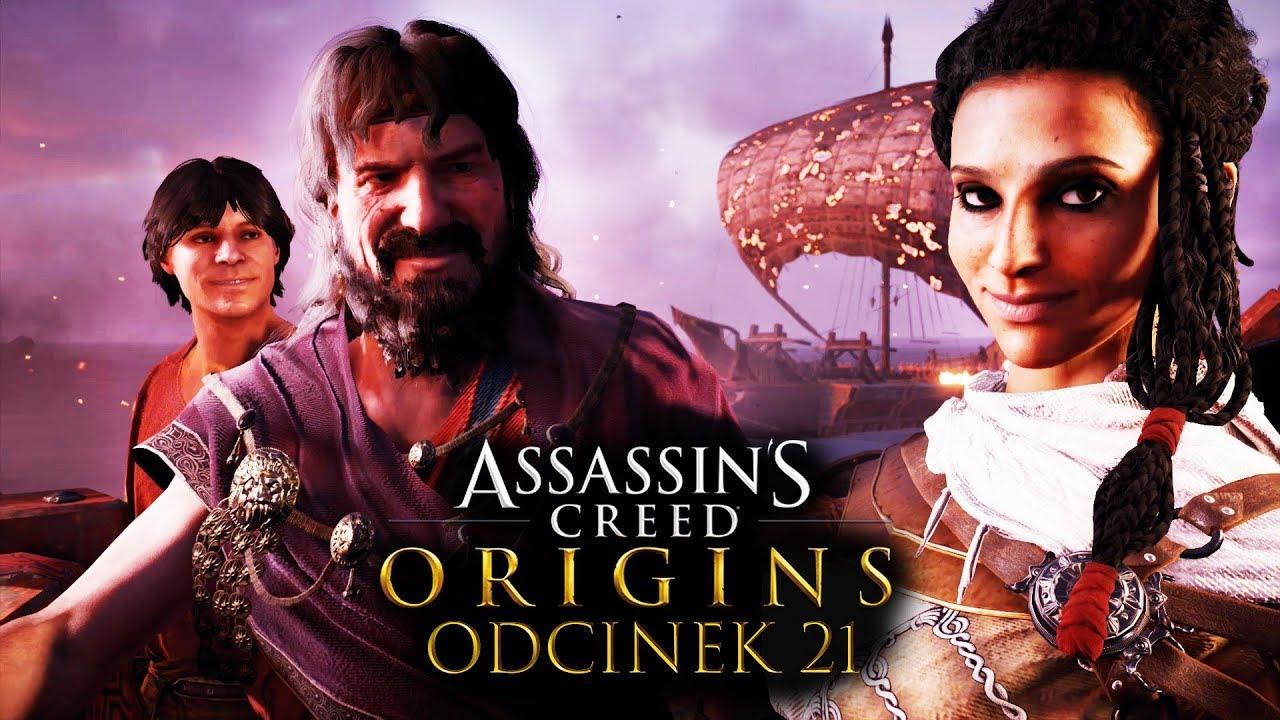 Zagrajmy w Assassin's Creed Origins #21 – SPOTKANIE Z CEZAREM! – PC 4K