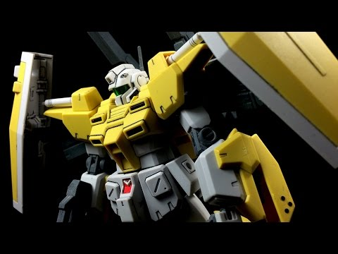 1 144 Hgbf Powered Gm Cardigan Review Youtube