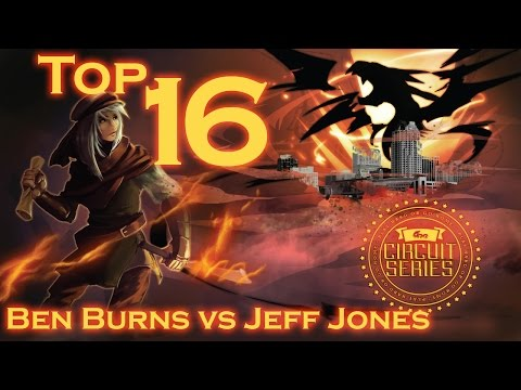 ARG Atlanta Top 16 - Ben Burns (Burning Abyss) vs Jeff Jones (Shaddolls)