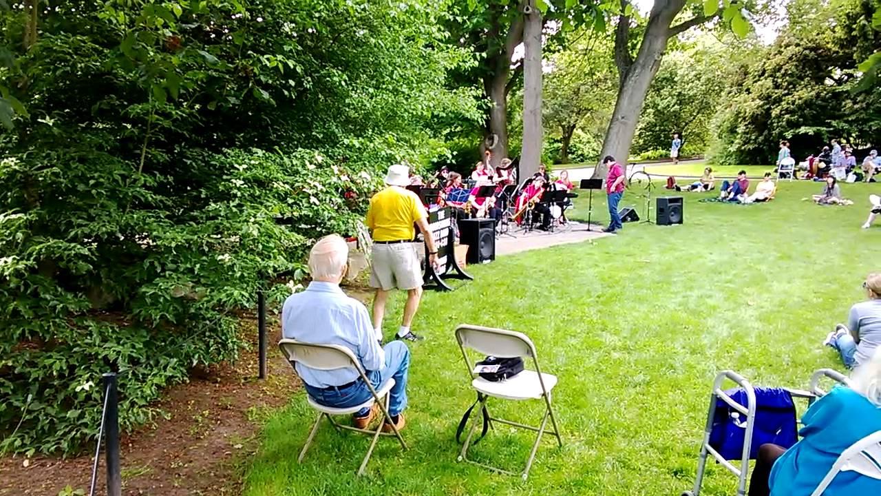 Voorbeeld Voor Paps Jazz Band In Carl S English Jr Botanical Gardens Seattle Ballard Locks