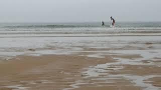 만리포 서핑영상 8월 29일, 워킹연습 3