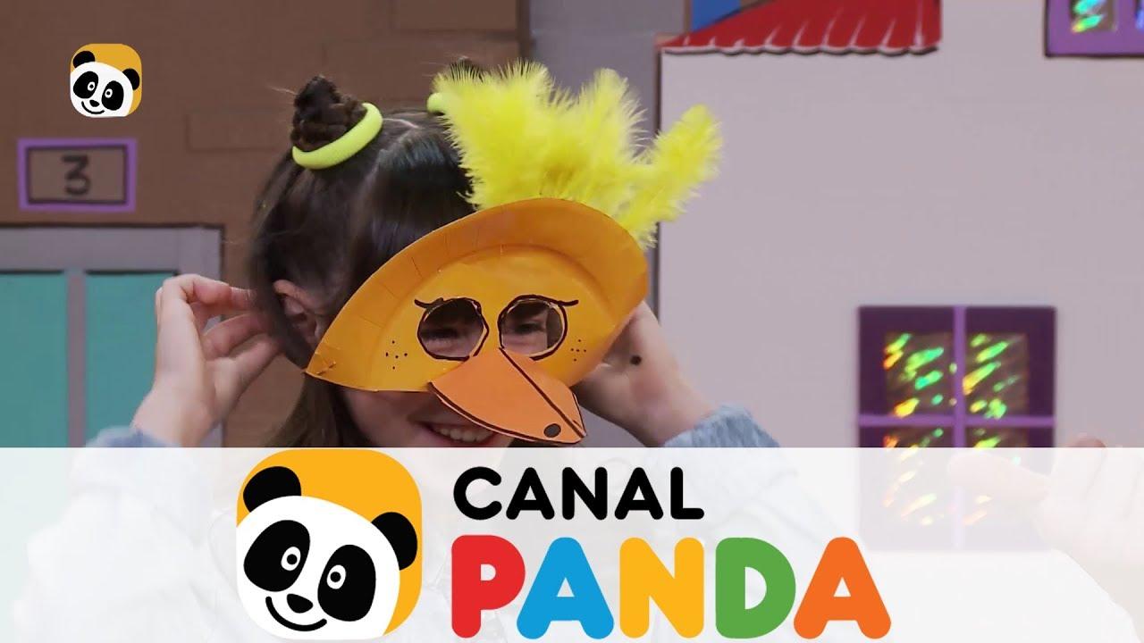 Fabrica Una Divertida Careta Con Un Plato De Cartón Canal Panda Youtube