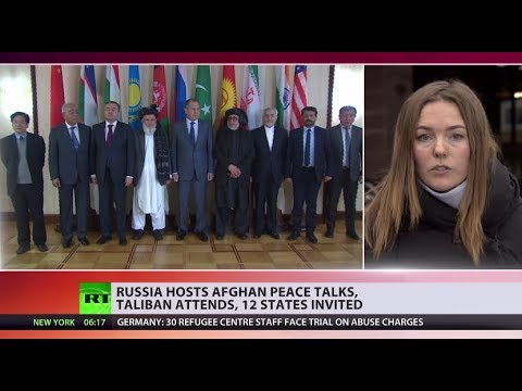 Moscow hosts Afghan peace talks, Taliban attends