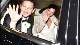 Behind the scenes at Frank Lampard and Christine Bleakley