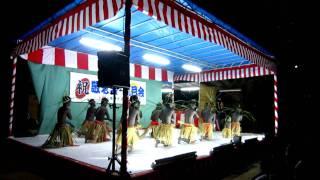 その昔、南洋帰りの男性が村に伝えた踊りだそうです。