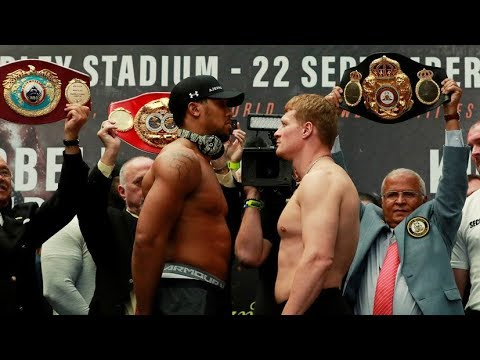 Fight Night Champion Anthony Joshua - Alexander Povetkin