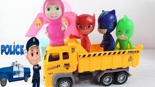 Maşa Pijamaskelilere Sürpriz Yapıyor Maşa Marketten Neler Alıyor Pj Masks Çizgi Film Eğitici Oyun