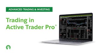 Trading in Active Trader Pro | Fidelity