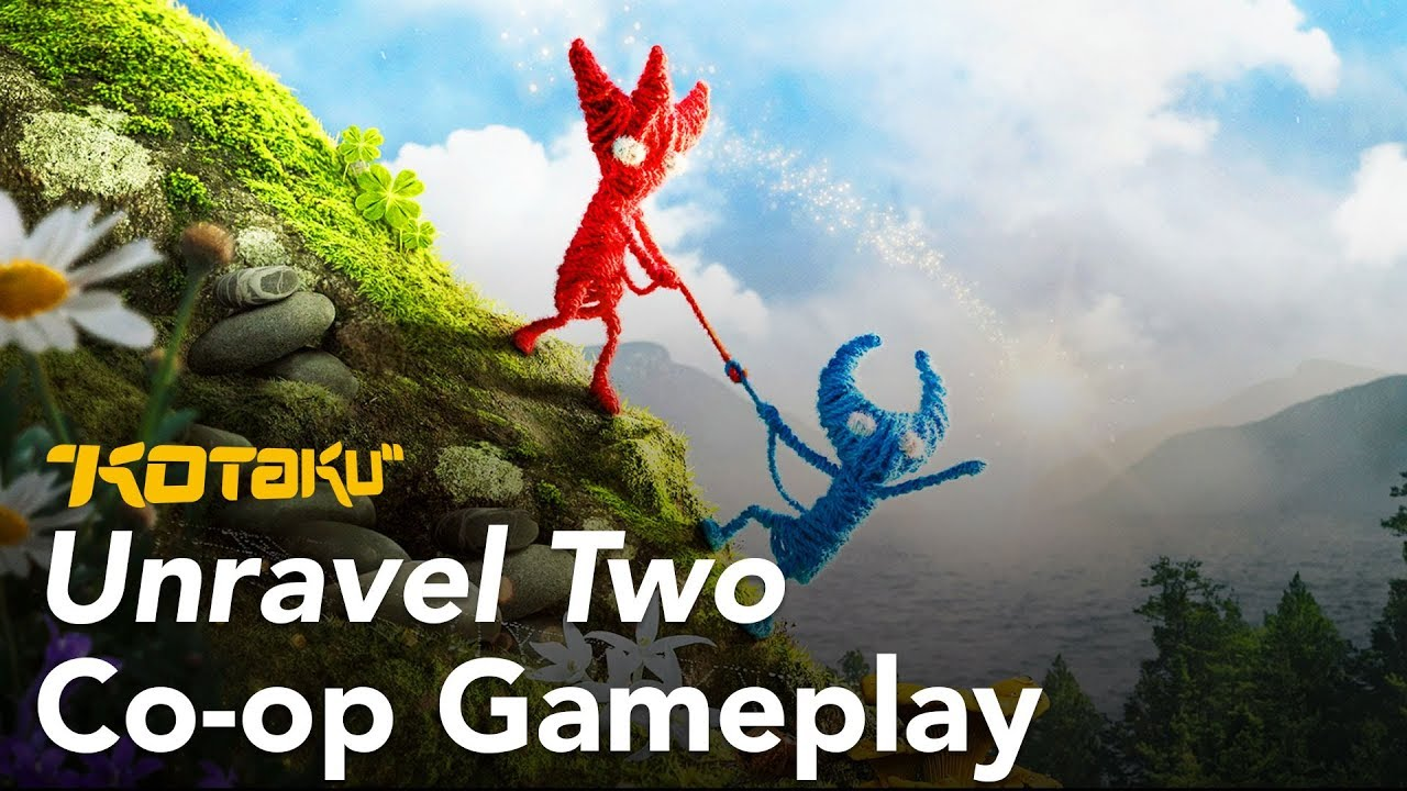 20 Minutes of Unravel Two Co-Op