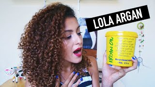 Lola Cosmetics Máscara Argan Resenha | Mari Morena