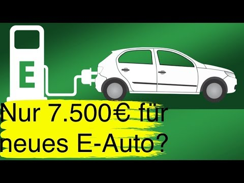 #52 So kosten E-Autos nur noch 7.500 Euro