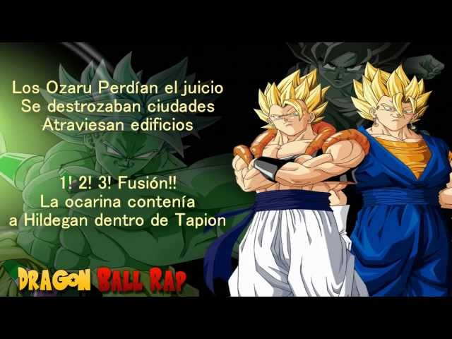 Porta   Dragon Ball Rap con  Letra para disfrutar 2013 Videos De Viajes