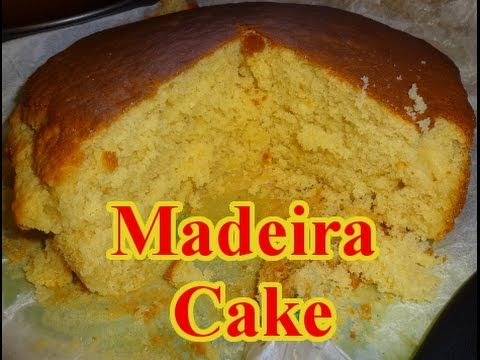 How To Make Madeira Cake Youtube
