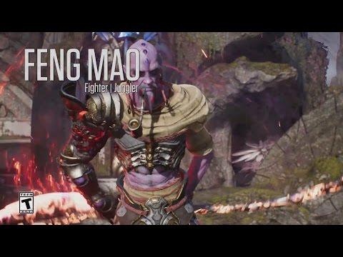 видео: paragon - Минутный Обзор Героя - Фенг Мао (feng mao)