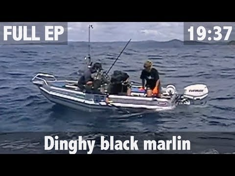 500lb Black Marlin From A Dinghy
