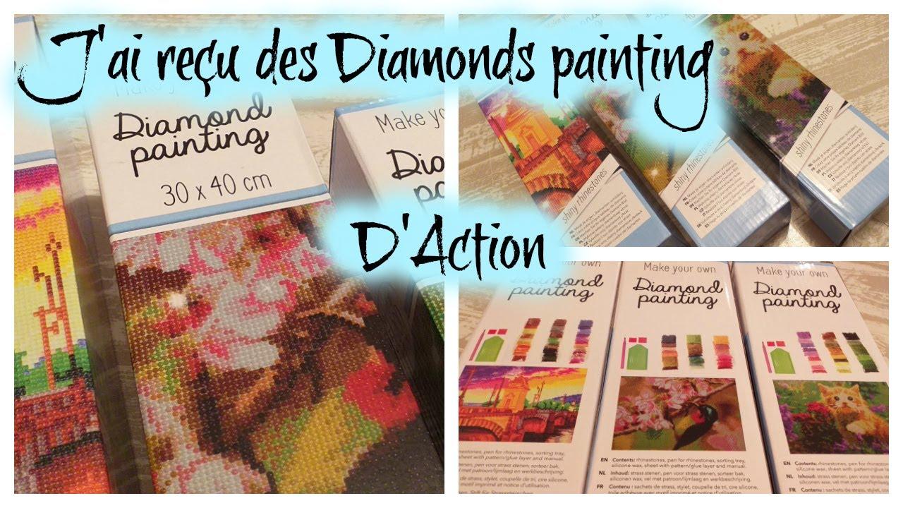 J Ai Recu Des Diamonds Painting D Action Youtube