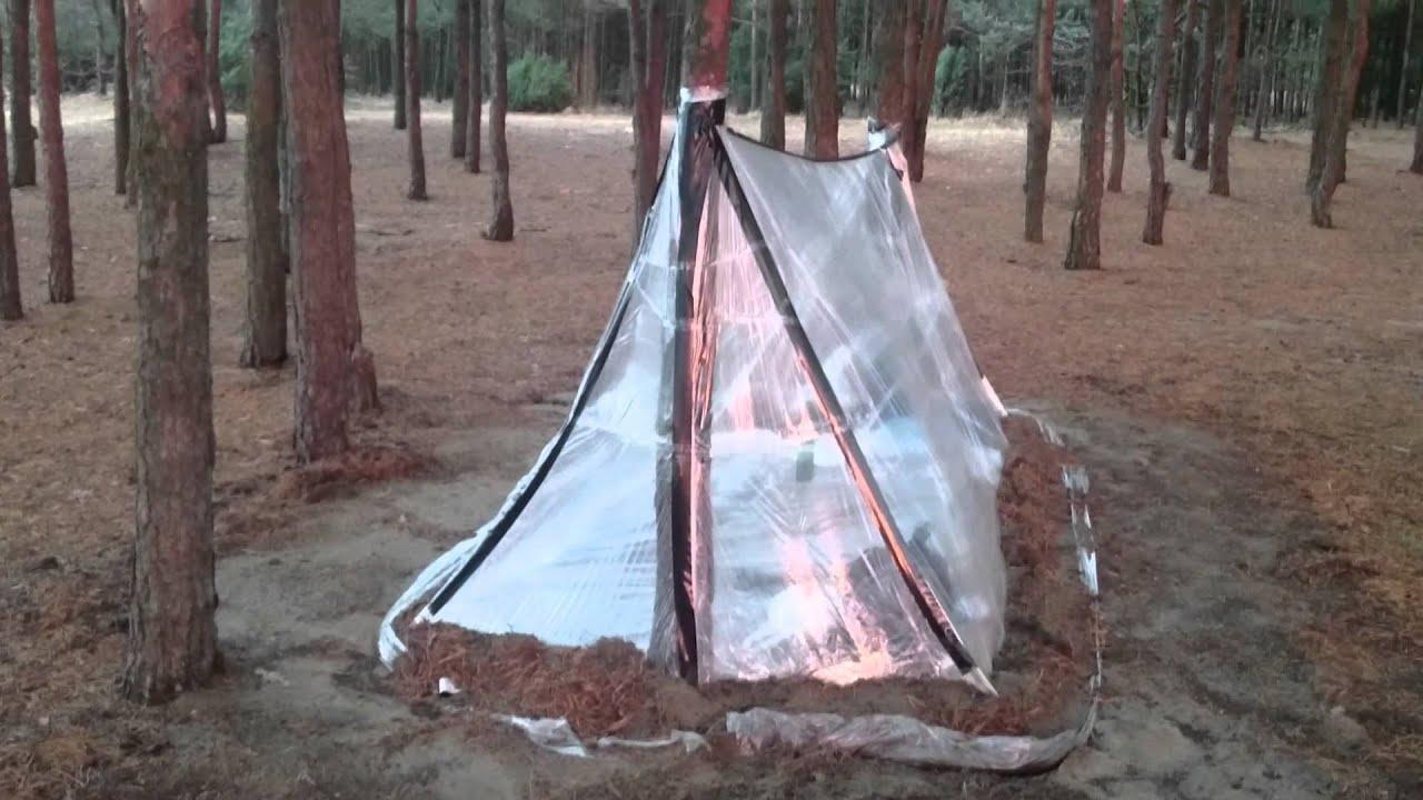 plastic tent in the wind & plastic tent in the wind - YouTube