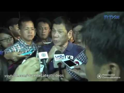 EXCLUSIVE: DAVAO CCTV FOOTAGE AND PRESIDENT DUTERTE AFTERMATH TIMELINE | Roxas Night Marke
