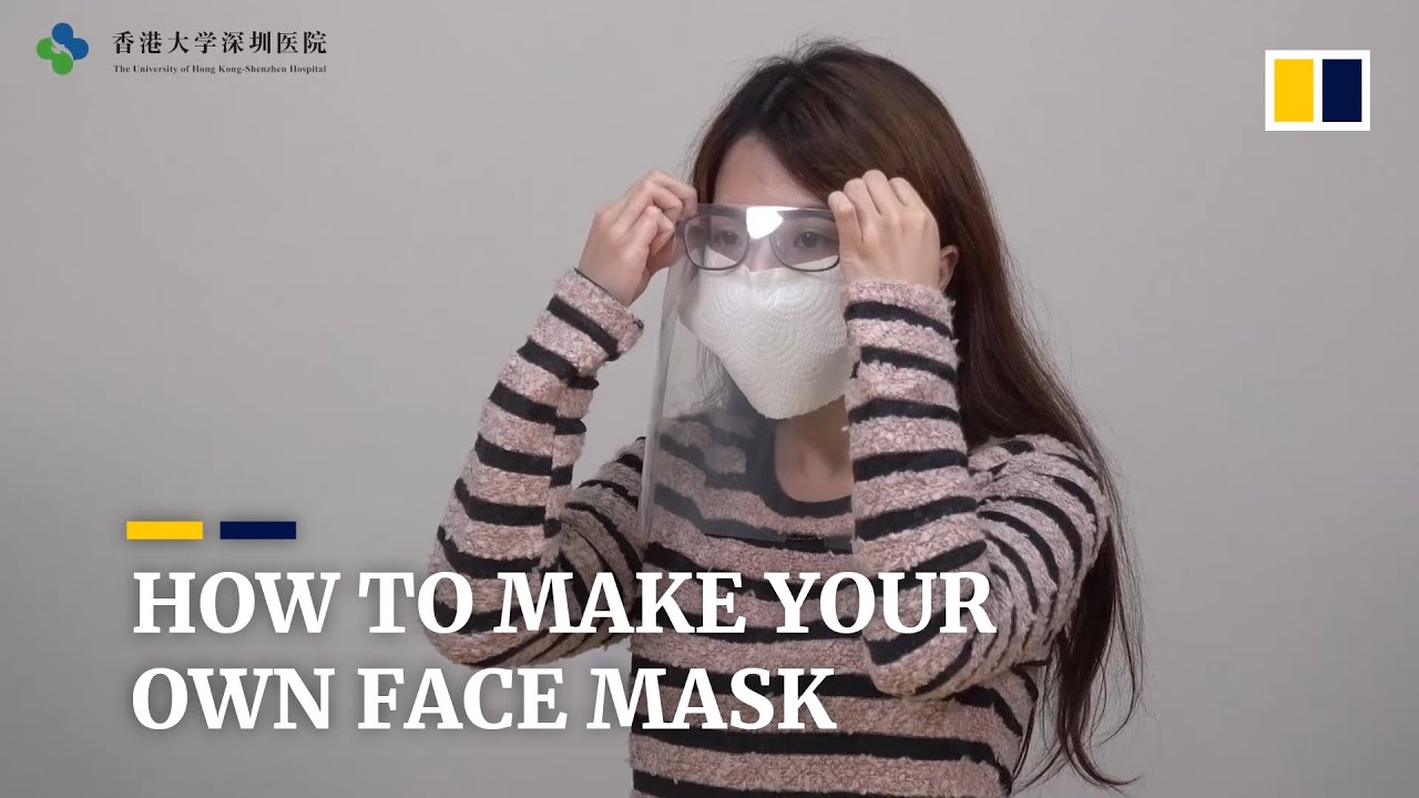 Experts devise do-it-yourself face masks to help people battle ...