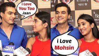 Shivangi Joshi And Mohsin Khan Interview At Yeh Rishtey Hain Pyaar Ke Serial Grand Launch Event