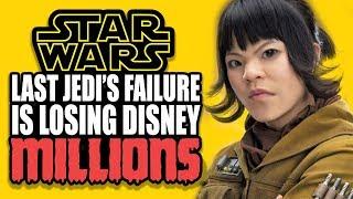 Star Wars: The Last Jedi's Failure is Losing Disney MILLIONS