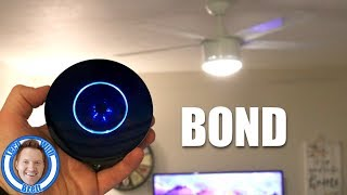 Turn Your Remote Controlled Ceiling Fan Smart With BOND