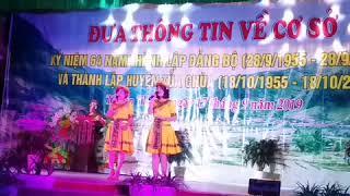 Hai Cô Giáo Hát Hay Nhất Trường THCS&TTHPT Tả Sìn Thàng kỷ Niệm 64 Năm Thành Lập Trường 2019