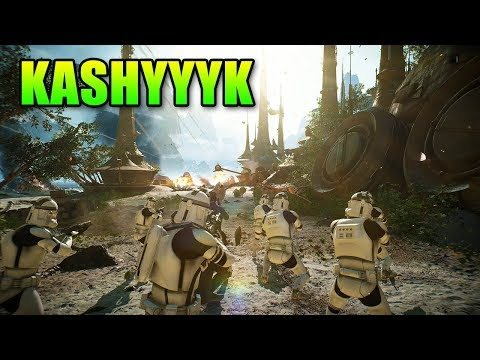 Star Wars Battlefront 2 - Kashyyyk Gameplay