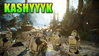 Star Wars Battlefront 2 - Kashyyyk Gameplay
