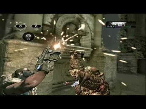 Gears Of War 2 (GoW2)Glitches Dead Rising Tutorial