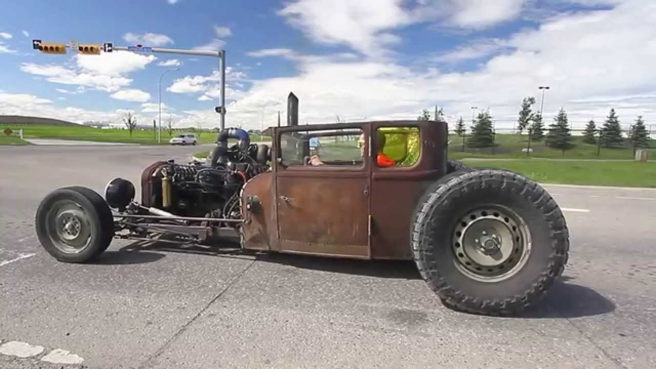 Preferenza 27 Ford ratrod diesel - YouTube SG44