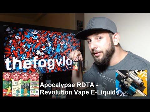 Apocalypse RDTA - Revolution Vape E-Liquid