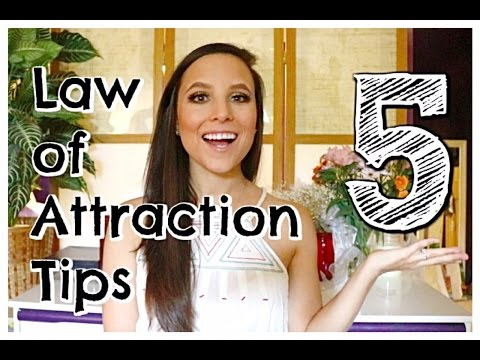 TOP 5 LAW OF ATTRACTION TIPS   HOW TO MANIFEST ANYTHING   ERIKA MOULTON