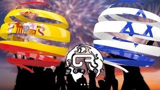 ESPAÑA VS ISRAEL | CR Worlds | Fase de grupos