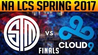 TSM vs C9 Game 5 - 2017 NA LCS SPRING FINALS - Team SoloMid vs Cloud 9