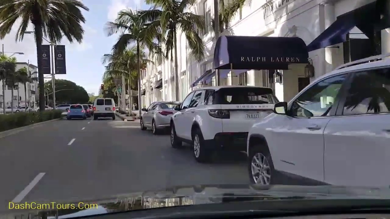 2017 Los Angeles Driving Tour Rodeo Drive Beverly Hills