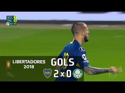 Boca Juniors 2 x 0 Palmeiras - Semifinal Libertadores 2018 - Globo HD⁶⁰