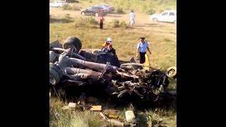 видео В Дагестане в ДТП у тоннеля погибли четыре человека