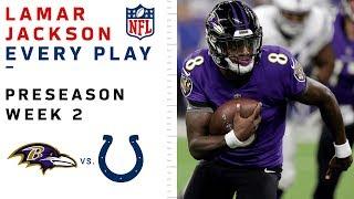 Every Lamar Jackson Throw & Run vs. Colts
