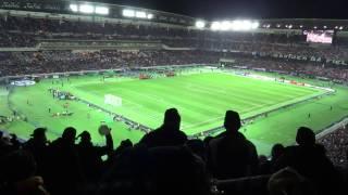 2012年12月16日、横浜国際陸上競技場(日産スタジアム)で行われたクラ...