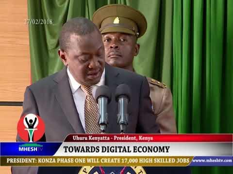 Kenya right on track towards digital economy, Uhuru