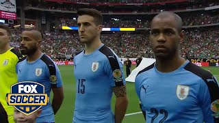 Wrong anthem played for Uruguay before Copa America game against Mexico