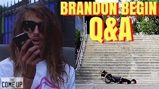 BMX- BRANDON BEGIN ANSWERS YOUR QUESTIONS!