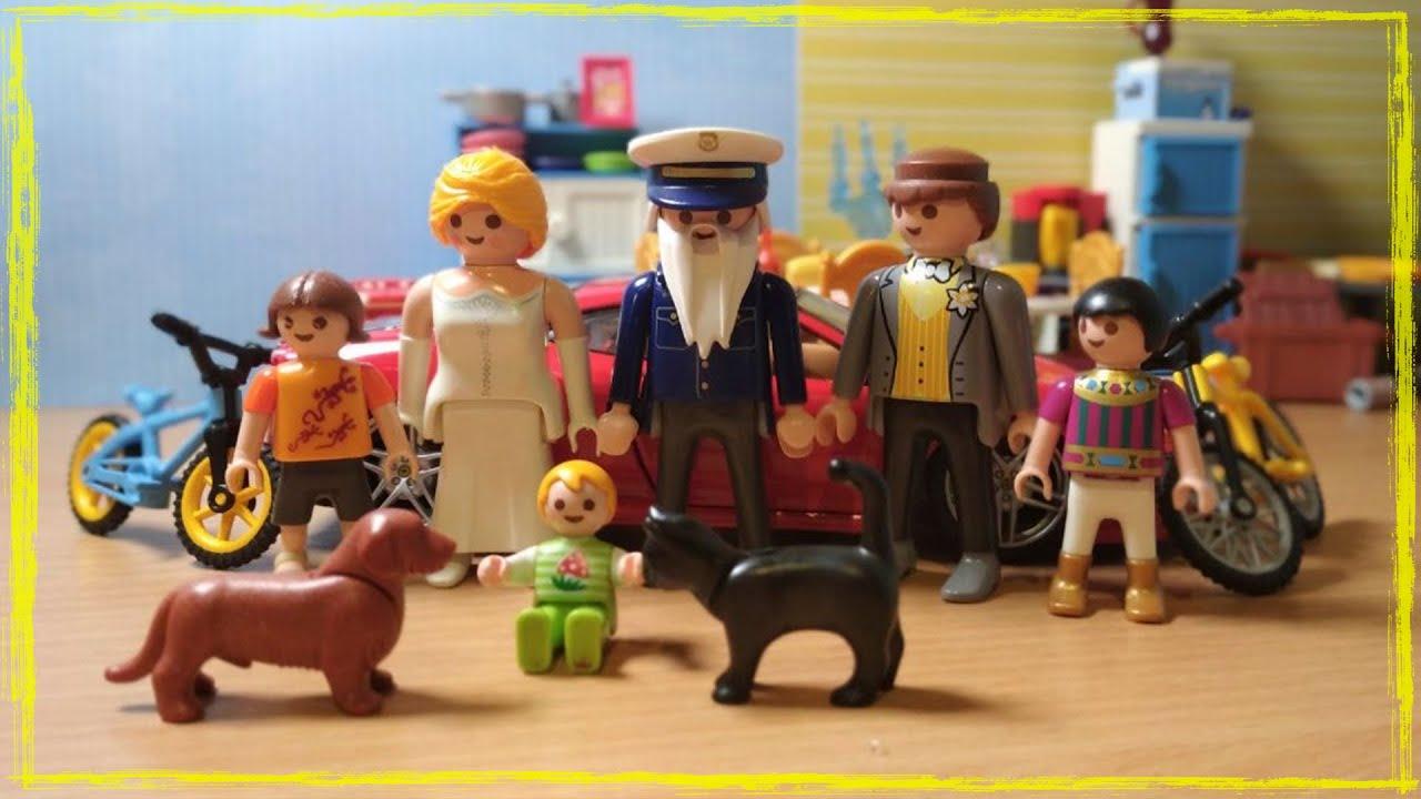 Игрушки Новый Год Собачка и Кошка Playmobil - YouTube