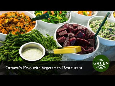 The Green Door: Ottawa's Favourite Vegetarian Restaurant