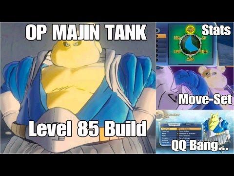 Xenoverse 2. Build : OP Majin Tank. (QQ Bang, Attributs, Super Ame..)