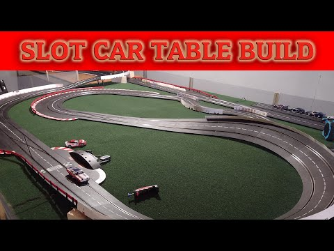 Building a Modular Table System for Slot Car Tracks